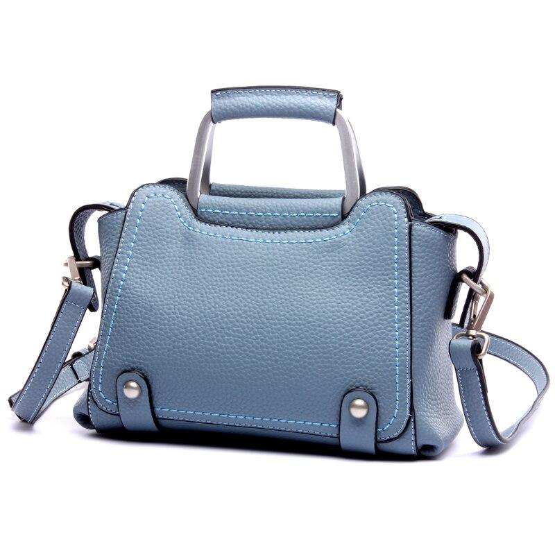ФОТО 2017 New Fashion Leather Handbags Ladies Leather Bag Shoulder Messenger Bag Handbag L6070
