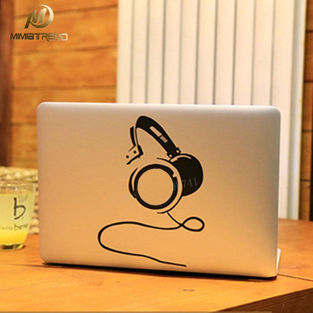 Mimiatrend מגניב DJ מחשב נייד מדבקות מדבקה - אביזרים למחשב נייד