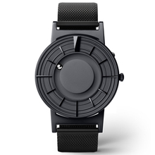 EUTOUR Rome digital dial watches Luxury Brand Mens fashion Casual Quartz Watch Simple Men Round canvas  leather strap Wristwatch high quality sandalwood design men women quartz wristwatch round dial with rhinestones black leather band simple casual watch