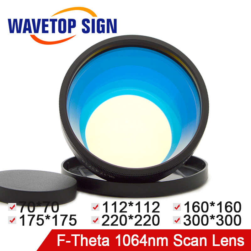 1064nm Scan Lens F-theta Lens 70*70 112*112 160X160 175*175 220*220 300*300mm Fiber Laser YAG Laser Mark Machine Good Quality купить в Москве 2019