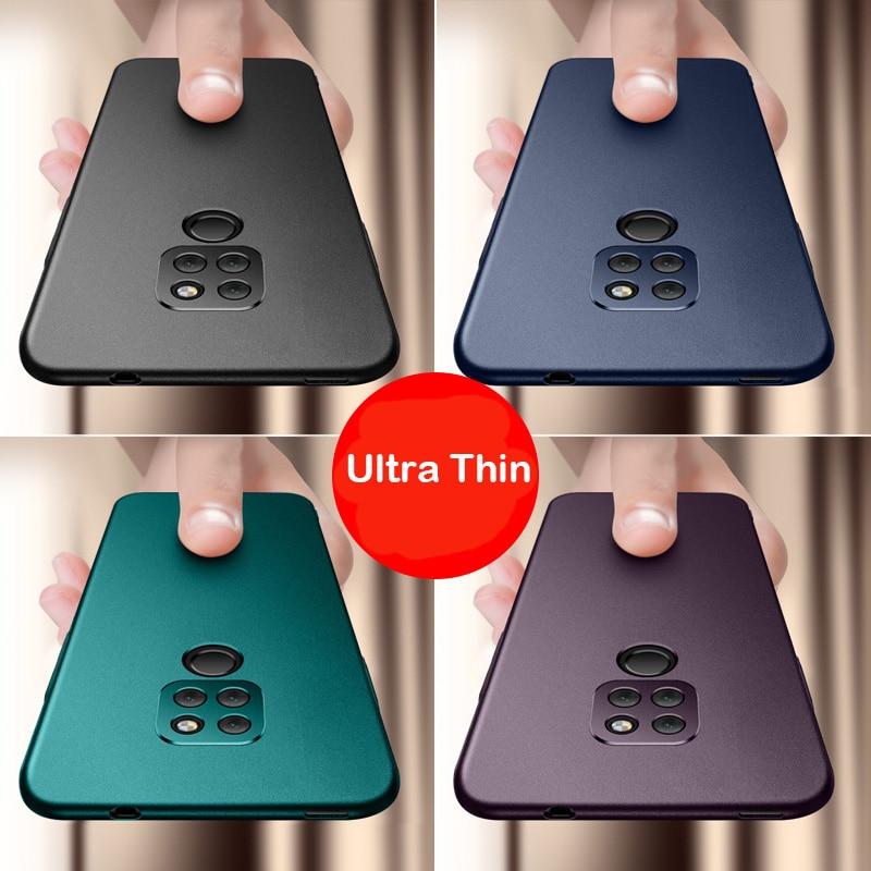Caso Capa Para Huawei Companheiro Aixuan 20 Completa Proteja Anti Fingerprint Matte Caixa Do Telefone Para Huawei Companheiro 20 Pro 20X capa Habitação