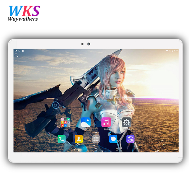 2017 newest 10.1 inch tablet pc Android 6.0 RAM 4GB ROM 32/64GB Dual SIM Bluetooth GPS 1920*1200 IPS tablets pcs free shipping