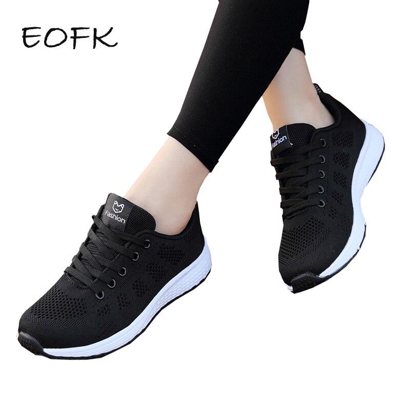 meet c3d60 c23d8 Comprar Zapatillas De Deporte Para Mujer EOFK Nuevo Tejido Primavera ...