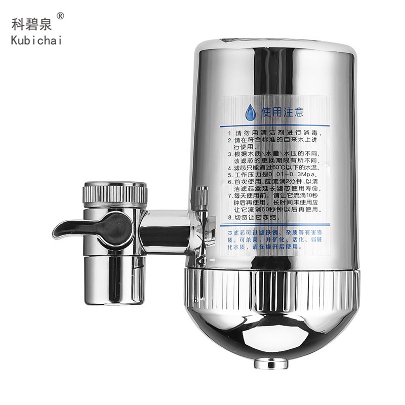Image 5 - Stainless Steel Faucet Water Filter Mineral Stone Tap Water Purifier Kitchen Tap Water Filter Rust Removal Washable Filter 31-in Water Filters from Home Appliances