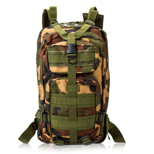 Multifunctional travel Mountaineering backpack Three sand color