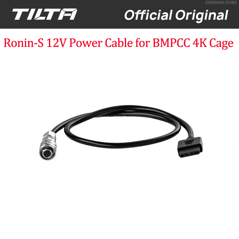Tilta BMPCC 4K to Ronin-S 12V Power Cable
