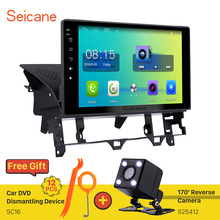 seicane 10.1 inch Quad Core Android 6.0 Car Radio GPS Navigation for Old Mazda 6 2003-2008 Bluetooth Support 3G WIFI Mirror Link
