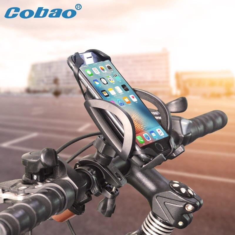 Cobao Fahrrad-halter Lenker Fahrrad Handyhalter 360 Einstellbare Motorrad Handyhalter Für iPhone Samsung Huawei Xiaomi