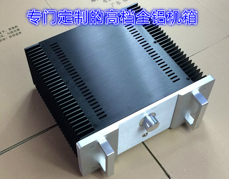 Finished upgraded version HOOD 1969 class A amplifier 24W x2 Crystal field pipe sk3875 2015 black edition with protection suite lm1875 upgraded version of the diy power amplifier board