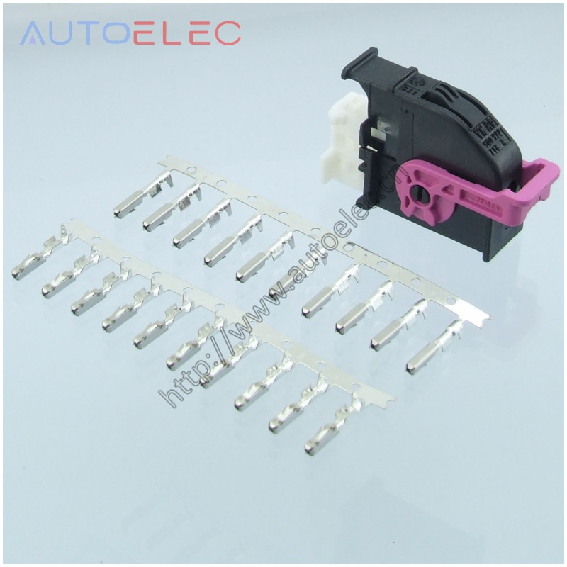 1Kit  5Q0972718A Automotive Connector With ECU Terminal For Golf Instrument Plug Volkswagen Audi VW CONNECTOR