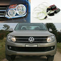 For Volkswagen VW Amarok 2011 2012 2013 2014 Excellent Angel Eyes Ultrabright illumination ccfl angel eyes kit Halo Ring