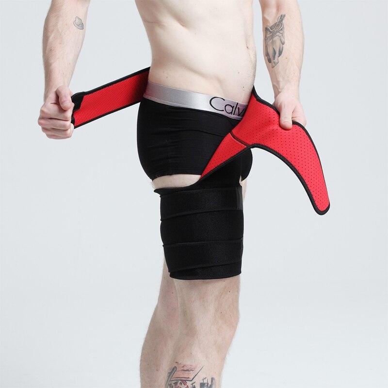 Groin Support, Sciatica Pain Relief  Groin Compression Wrap For Hip Flexor Brace, Adjustable Sciatic Pain Relief Brace & Sleeve