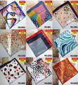 50*50 cm pequeña bufanda de seda de Las Mujeres de la señora ropa de trabajo flor imprimir satén bufanda niñas banco bufanda del Poliester 5 unids/lote venta al por mayor