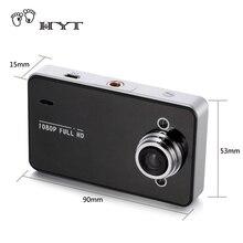 HYT Full HD 1080 P registrador Del Coche DVR Cámara de Vídeo De Cam Cámara de la rociada 2.7 Pulgadas G-sensor Dash Cam Grabadora de Visión Nocturna H024