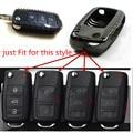 100% Real Pure DRY Carbon Fiber Car Key Case Cover Shell For VW Golf /SCIROCCO/ PASSAT/ POLO/NEW SAGITAR/Tiguan/Lavida