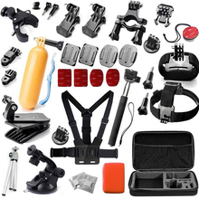 Basic Outdoor Sports Camera Accessories Tool Kit for Gopro Action Sports Camera