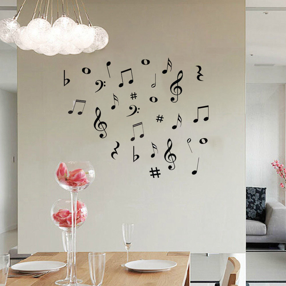 Diy music musical notes variety pack wall stickers vinyl aeproducttsubject amipublicfo Gallery