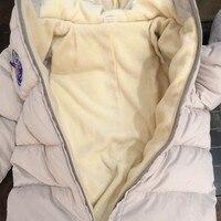 Холодное зимнее пальто Комбинезоны Детская одежда для мальчиков и девочек Комбинезон детский утиный пух хлопковые комбинезоны зимний комбинезон с капюшоном одежда