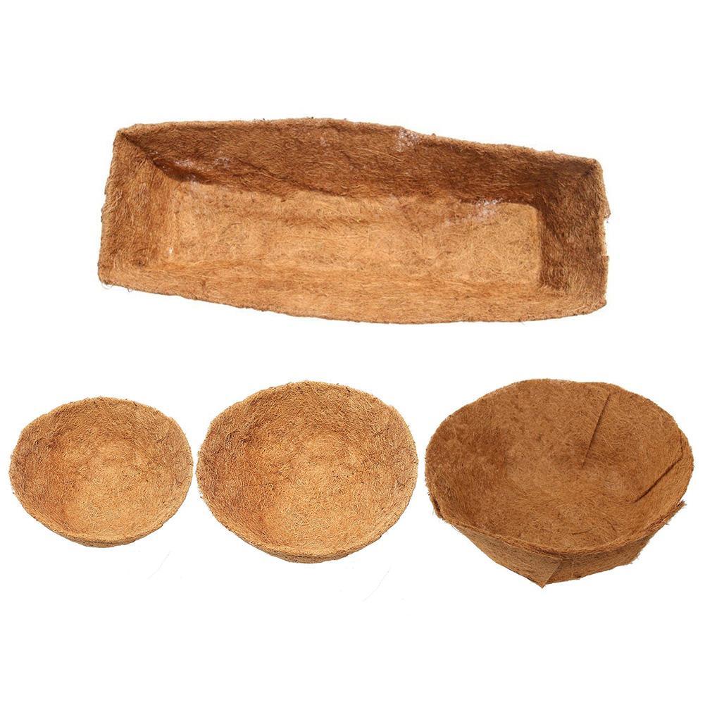 16 Inches In Diameter Garden Pot Coco Fiber Replacement Liner Basket Liner  For Garden Flower Pot ~