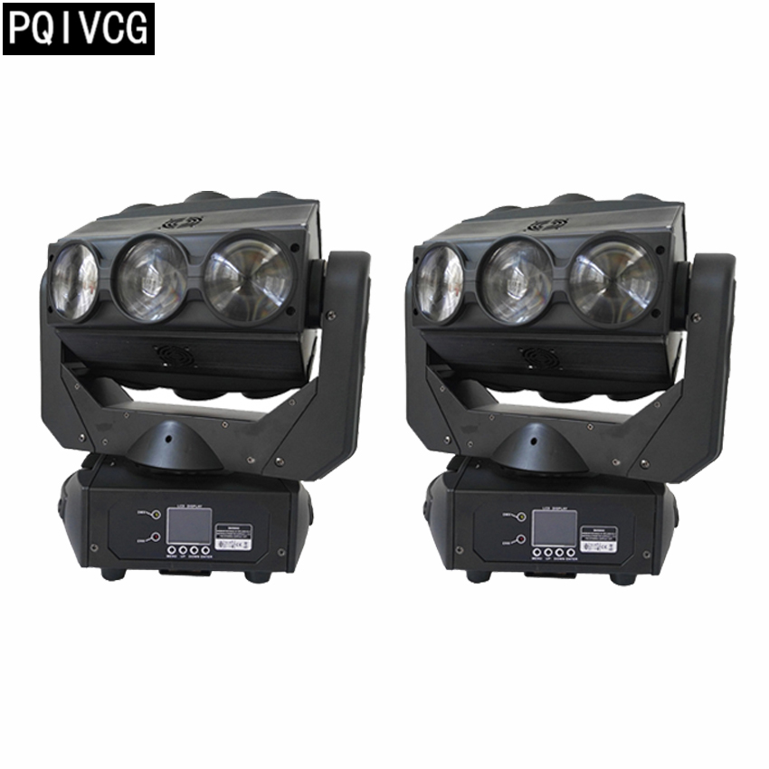 2pcs/9x12w beam lights rgbw 4in1 dmx disco moving head light professional stage lighting equipment2pcs/9x12w beam lights rgbw 4in1 dmx disco moving head light professional stage lighting equipment