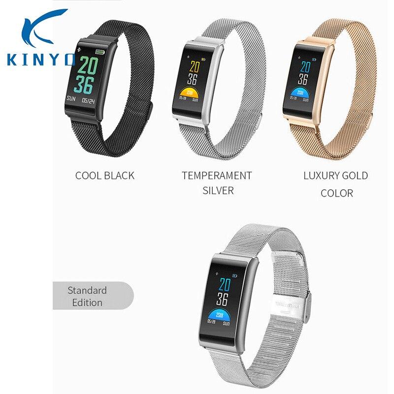 2018 New IP67 Waterproof Smart Band Wristband Blood Pressure Watch Blood Oxygen Heart Rate Monitoring Smart
