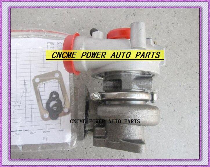 TURBO TD04-12T 49177-03140 49177-03160 Turbocharger For Mitsubishi Pajero L200 Bobcat S250 Skid Steer Loader Kubota V3300-T 3.3L (4)