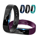 Nueva id115 pulsera inteligente monitor de actividad rastreador de ejercicios paso contador banda reloj pulsera de vibración para xiaomi pk id107 p40