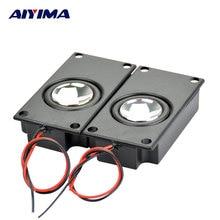 AIYIMA 2Pcs 4Ohm 3W Audio Portable Speakers 3870 Box Speaker DIY Mini TV Speakers