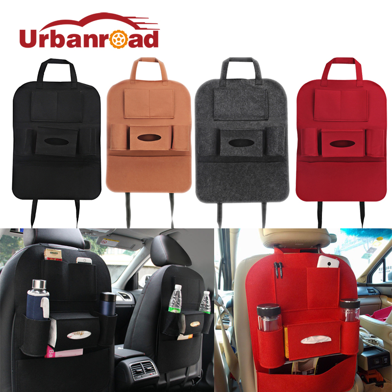 Urbanroad Car Seat Bag Storage Organizer Universal Back Seat Bags Multi Pocket Organizer Cup Food Phone Auto Accessories For Kid ...