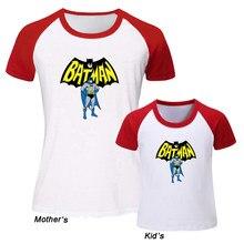 01058137b7f5 DC Superhero Bruce Wayne Batman Design Family Day T-shirts Mens Womens Kids  Childs Printing Raglan Tshirt Graphic Tees Tops