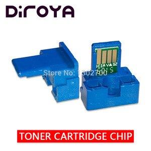 Image 1 - Chip de cartucho de tóner MX B45GT para MX B350P Sharp MX B450P, MX B355W, MX B455W, MXB355W, MXB455W, reinicio de polvo, 5 uds.