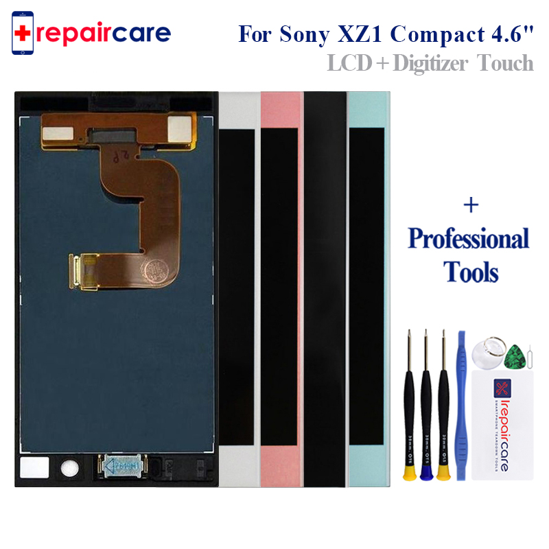 4.6 Original LCD for SONY Xperia XZ1 Compact Display Touch Screen Replacement for SONY Xperia XZ1 Compact Mini LCD G8441 G84424.6 Original LCD for SONY Xperia XZ1 Compact Display Touch Screen Replacement for SONY Xperia XZ1 Compact Mini LCD G8441 G8442