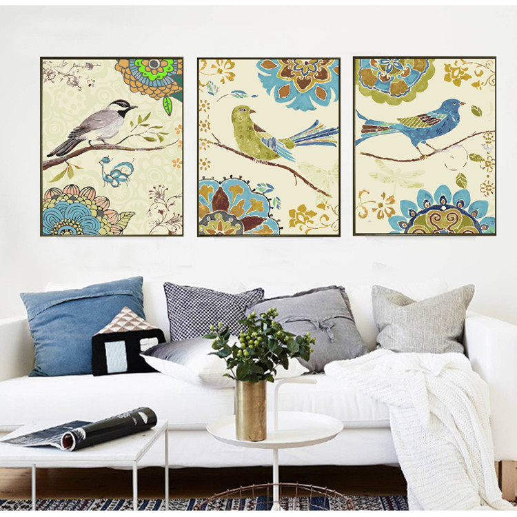 painting by numbers hand painted canvas painting by numbers diy picture coloring on canvas wall painting christmas gift HQ15