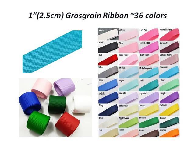 "5yd * 10 צבע 1 ""(2.5 ס""מ) מבהיקי רצועת כלים-אריזת Diy קישוט חומרי בגדים"