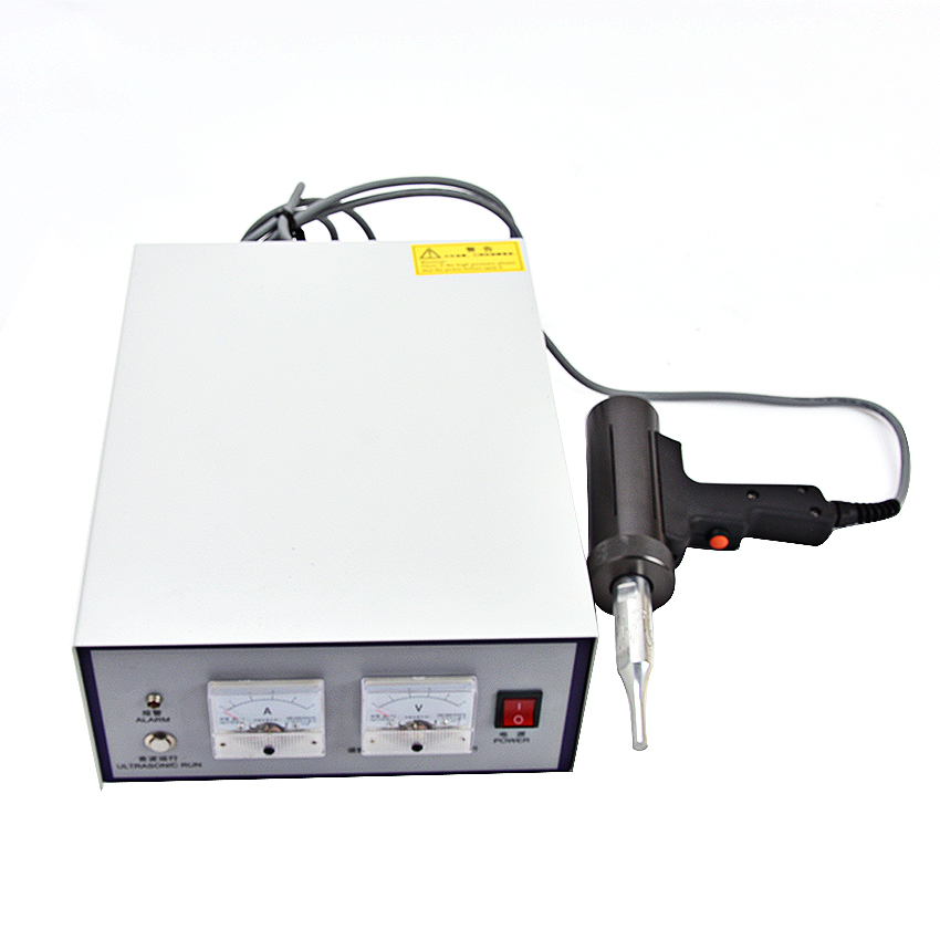 US $805 66 |28 kHz / 500W Hand held ultrasonic plastic welding machine,  Including the transducer, generator, tool head, handle-in Plastic Welders  from