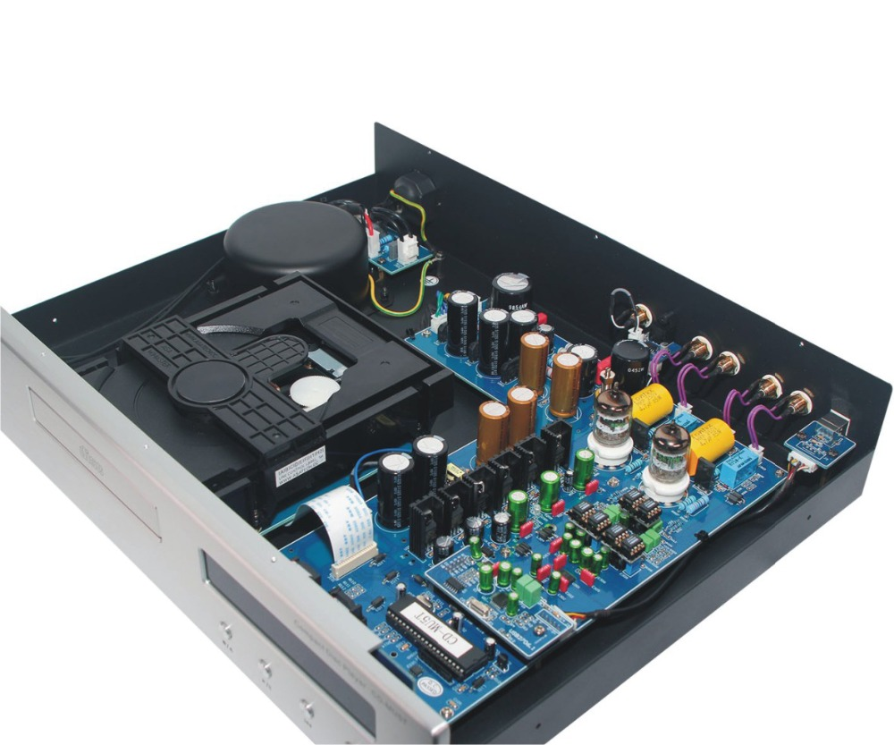 R-024 -01 CD Upgrade Vacuum Tube CD Machine Double Tubes Upgrade Version CD/USB player 32Bit/192K PcM1795 chip деревянный щит три богатыря красный