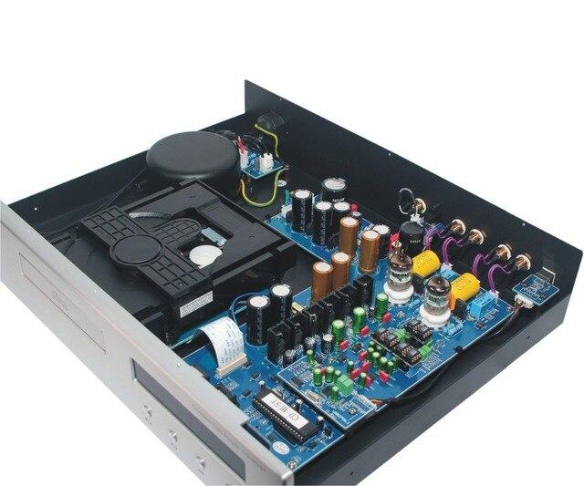R-024 -01 CD Upgrade Vacuum Tube CD Machine Double Tubes Upgrade Version CD/USB player 32Bit/192K PcM1795 chip