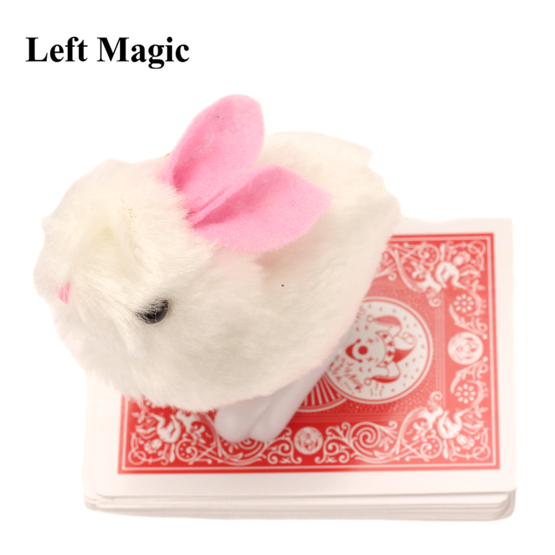 1set New Arrival Rabbit Looking For Cards Prediction Close Up Street Magic Tricks Easy To Do Magicians Children Magic   E3055