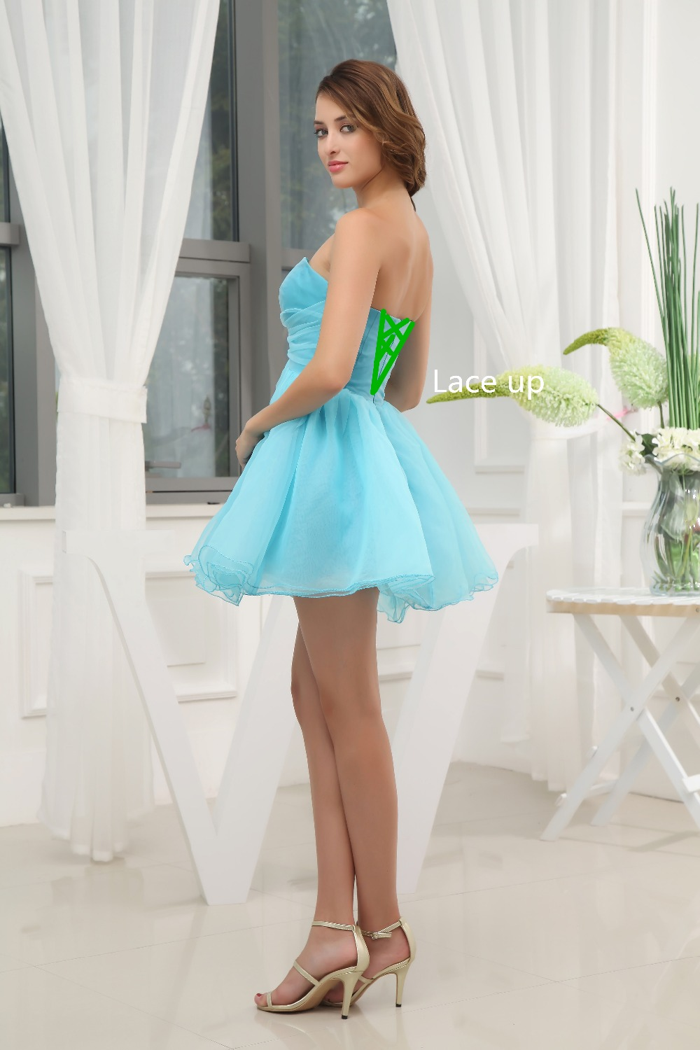 High School / University Mini Cocktail Party Ball Gown Sexy Prom ...