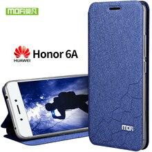 Huawei Honor 6a чехол мягкий силиконовый задняя крышка MOFI original Huawei Honor 6a чехол Флип кожаный Honor 6a Дело ТПУ Fundas 5.0 Coque
