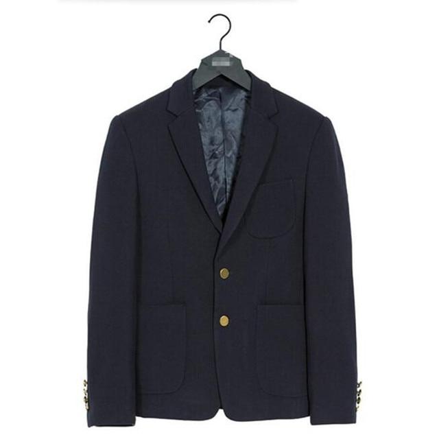 Малый костюм досуг мужской пиджак красивый контракт стиль, высокое качество пользовательских мужская жених пиджак чистый цвет