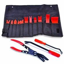 Kit de ferramentas de remoção de guarnição automotiva, sistema de áudio automotivo, clipe para janela, estofamento, removedor, nylon, painel de porta, estéreo conjunto de
