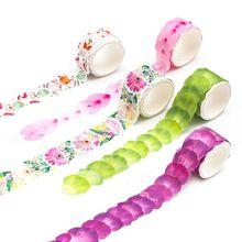 Decorative-Masking-Tape Washi-Tape Flower-Petals Sakura Stickers Paper Scrapbooking Diary