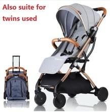 Мини детская коляска портативный складной коляска свет детская коляска костюм для лежа и сидения в 2018 новый товар