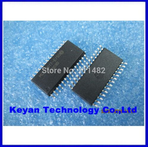 100% New original ! 10pcs/lot IC MCP23017-E/SO MCP23017 SOP 16-Bit