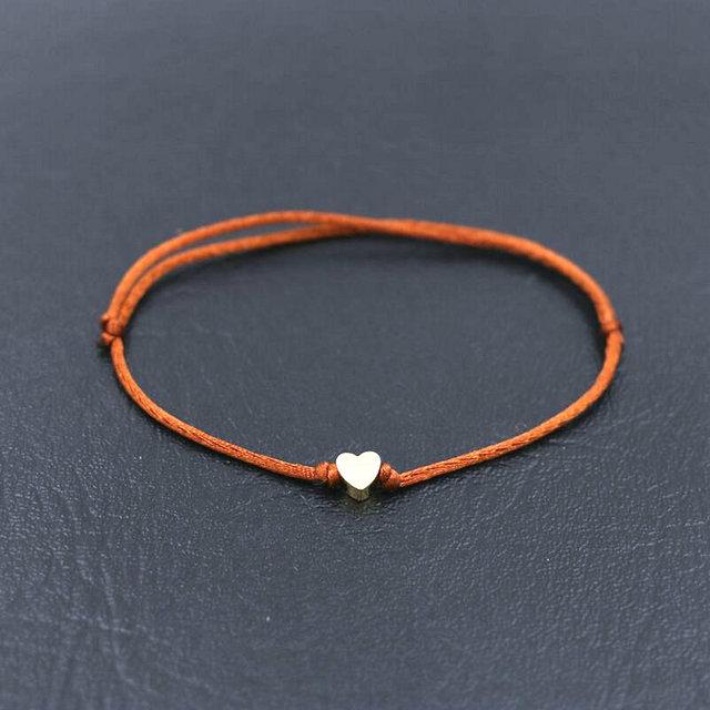 bracelet pour sa copine orange
