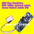 3 pcs 5000 remoto infravermelho de 125 Khz RFID autônomo de controle de acesso PCB com da antena