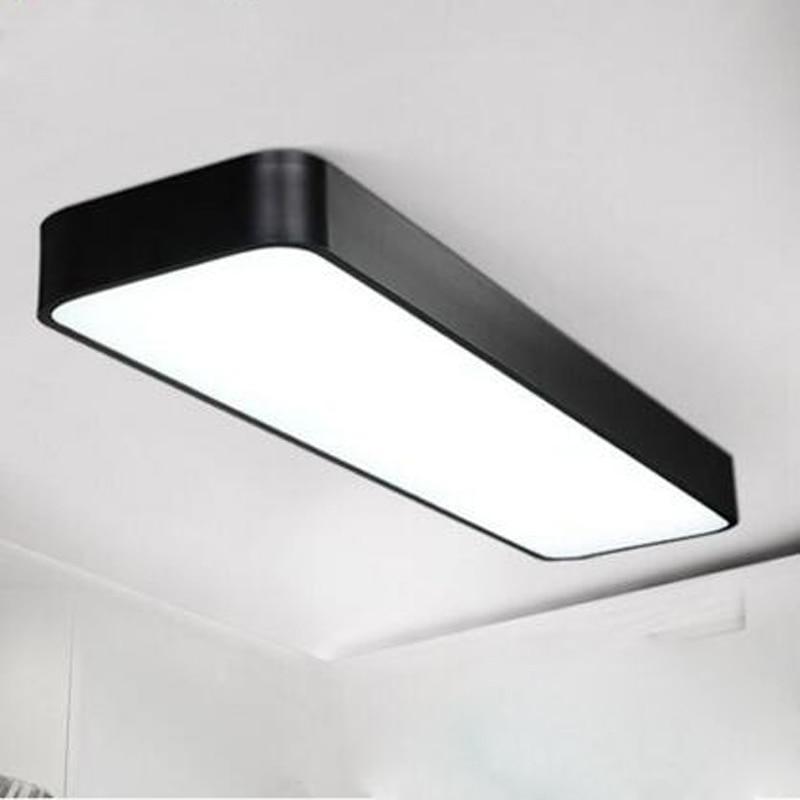 Ceiling Lamp Office: LED Office Ceiling Lamp Modern Minimalist Rectangular
