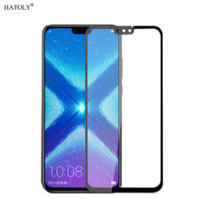 2PCS Screen Protector For Huawei Honor 8X Glass Tempered Full Glue Cover