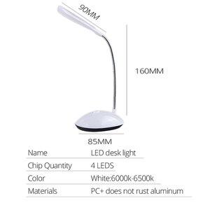 Image 4 - EeeToo veilleuse à piles, rotative à LED degrés, Protection des yeux, luminaire pour la lecture et les livres, idéal à 360 degrés